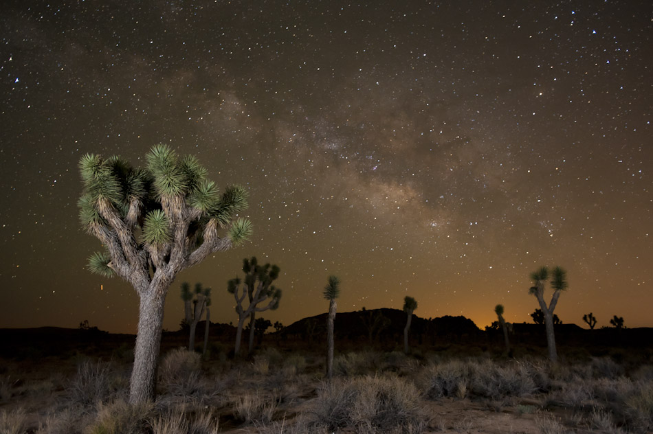 Iñaki Relanzon - Milky way in the desert