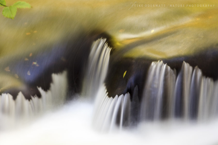 Heike Odermatt - golden waterfall